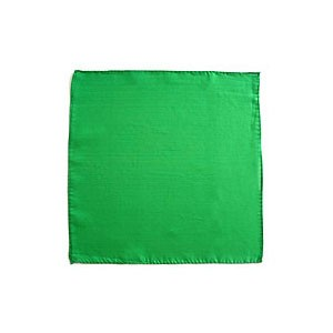 Seidentuch zum Zaubern - grün - 36 in./ca. 90cm