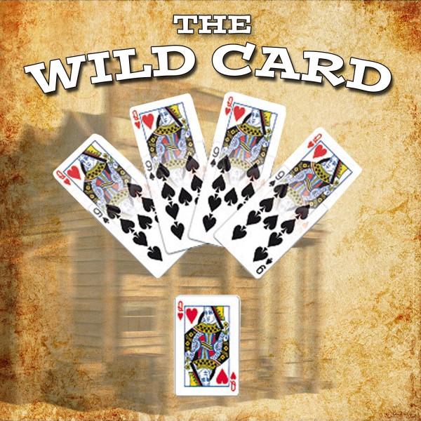 Wild Card Zaubertrick bei Zaubershop-Frenchdrop