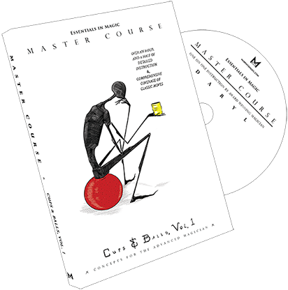 Master Course Cups and Balls Vol. 1 by Daryl