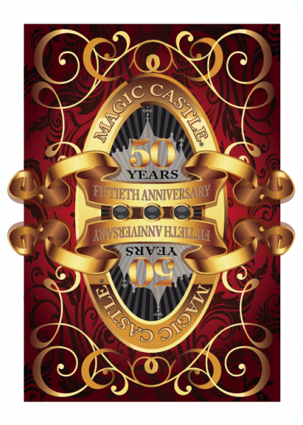 Magic Castle 50th Anniversary Deck Red - USPCC