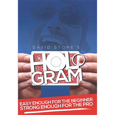 Hologram Blue (DVD and Gimmick) by David Stone