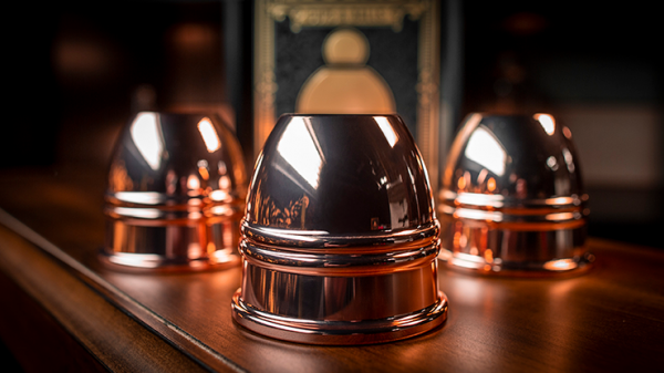 LEGEND Cups and Balls (Copper/Polished) bei Zaubershop Frenchdrop