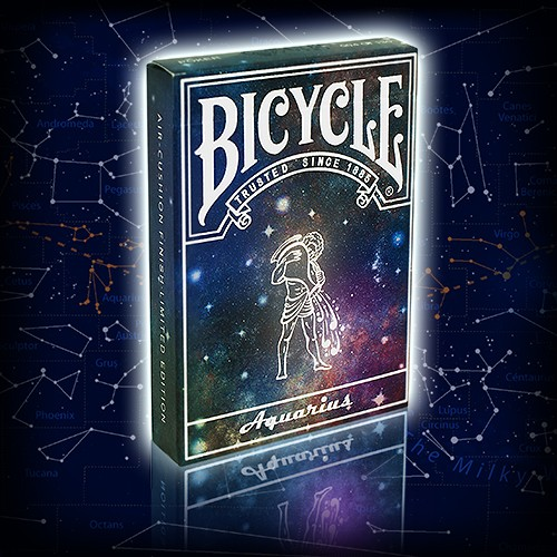 Bicycle Constellation Series - Aquarius - Sternzeichen Wassermann