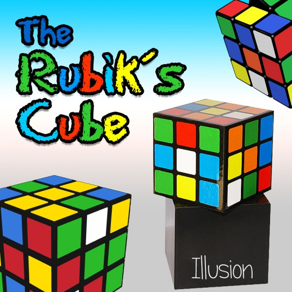 Rubiks Cube Illusion bei Zaubershop-Frenchdrop