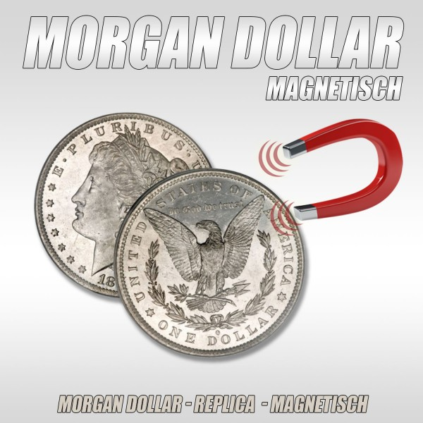Morgan Dollar Magnetisch