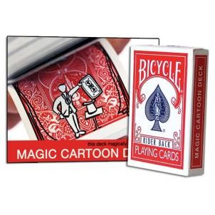 Magic Cartoon Deck Original - Bicycle Version