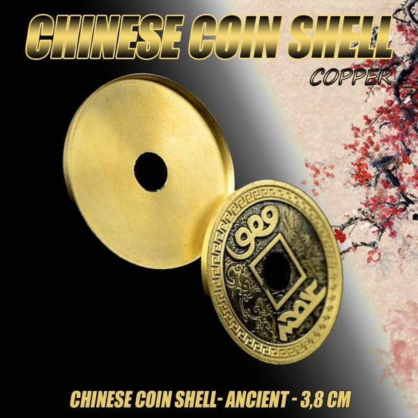 Expanded Shell Chinese Coin (Morgan Dollar Size) jetzt bei Zaubershop-Frenchdrop