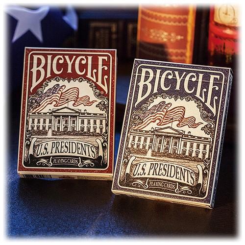 Bicycle - U.S. Presidents red